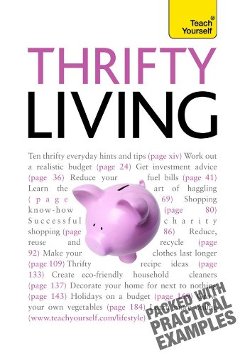 9780071665001: Thrifty Living: A Teach Yourself Guide
