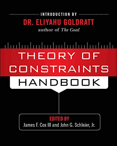 9780071665544: Theory of Constraints Handbook