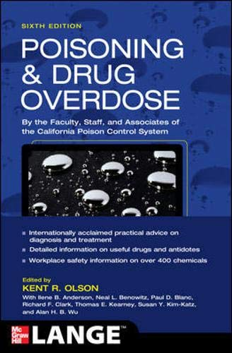 9780071668330: Poisoning and Drug Overdose,  Sixth Edition (Poisoning & Drug Overdose)