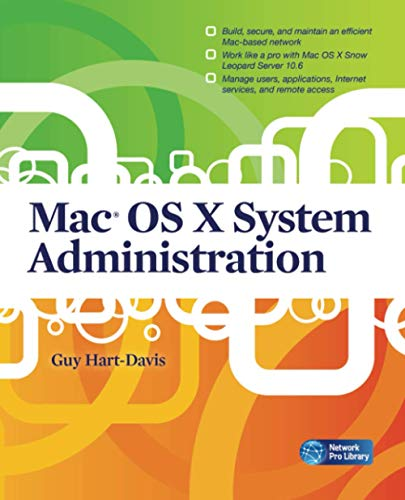 9780071668972: Mac OS X system administration