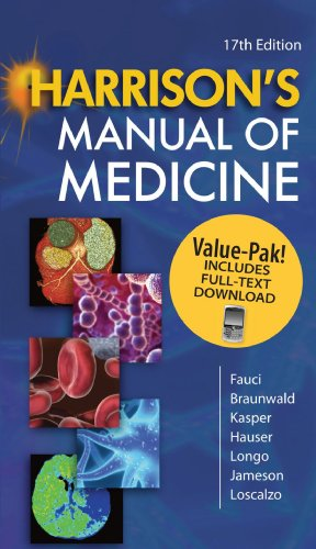 9780071669030: Harrison's Manual of Medicine 17/e Book/Mobile Valuepack