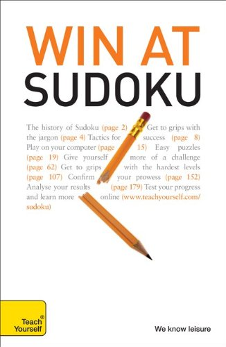 9780071700320: Win at Sudoku: A Teach Yourself Guide (Teach Yourself: Games/Hobbies/Sports)