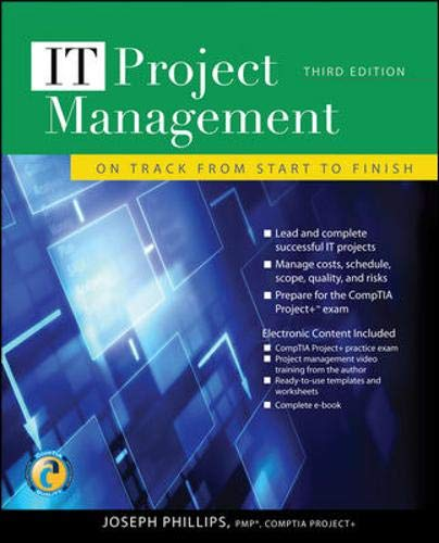 9780071700436: It Project Management: On Track from Start to Finish