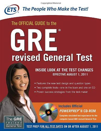 9780071700528: The official guide to the GRE revised general test. Con CD-ROM