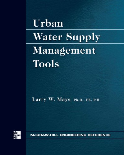 9780071700733: Urban Water Supply Management Tools
