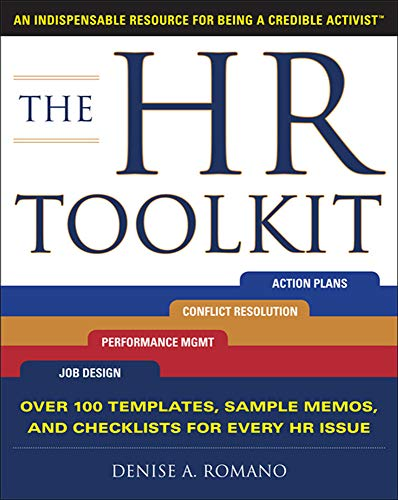 9780071700818: The HR Toolkit: An Indispensable Resource for Being a Credible Activist