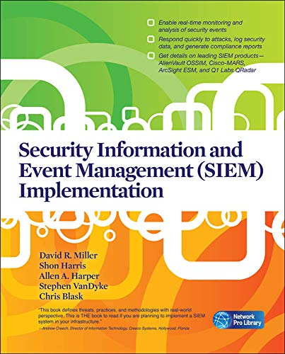 9780071701099: Security Information and Event Management (SIEM) Implementation (Network Pro Library)