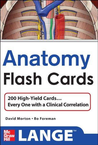 9780071701563: Anatomy Flash Cards