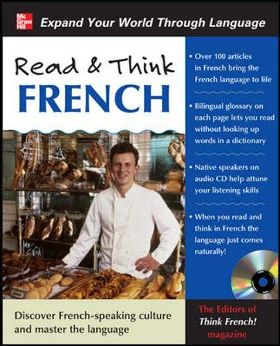 9780071702331: Read & Think French with Audio CD