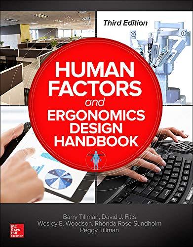 9780071702874: Human Factors and Ergonomics Design Handbook Third Edition