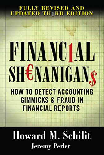 9780071703079: Financial Shenanigans: How to Detect Accounting Gimmicks & Fraud in Financial Reports, 3rd Edition (Professional Finance & Investment)