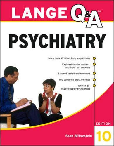 9780071703451: Lange Q&A Psychiatry, 10th Edition