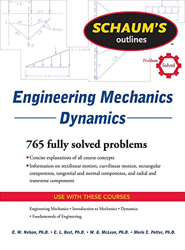 9780071713603: Schaum's Outline of Engineering Mechanics Dynamics (Schaum's Outline Series)