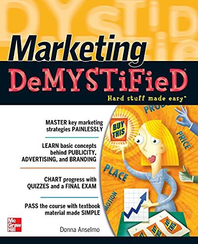 9780071713917: Marketing Demystified