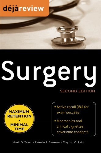 9780071715126: Deja Review Surgery, 2nd Edition