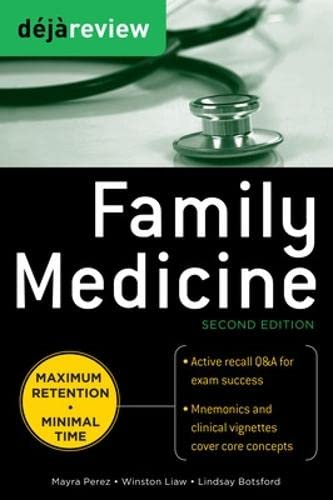 9780071715157: Deja Review Family Medicine, 2nd Edition