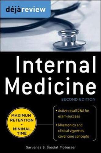 9780071715171: Deja Review Internal Medicine, 2nd Edition
