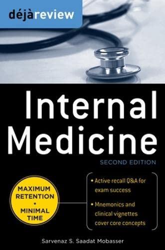 9780071715171: Deja Review Internal Medicine, 2nd Edition
