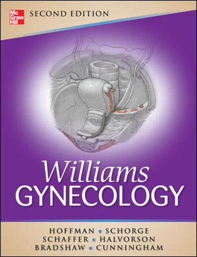 9780071716727: Williams Gynecology, Second Edition (Schorge,Williams Gynecology)