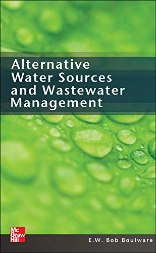 9780071719513: Alternative Water Sources and Wastewater Management