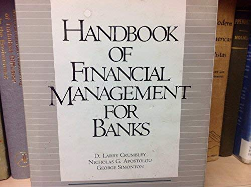 9780071721066: Handbook of Financial Management for Banks (Volumes 1 and 2) (Shepard's accounting and finance practice series)