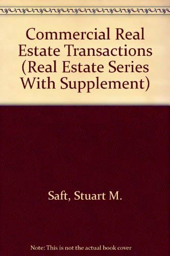9780071721431: Commercial Real Estate Transactions (Real Estate Series With Supplement)