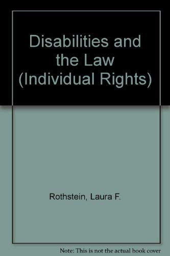 9780071723725: Disabilities and the Law (Individual Rights)