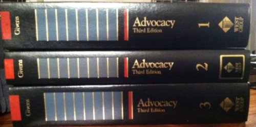 9780071723985: Advocacy, the Art of Pleading a Cause (Trial Practice Series)