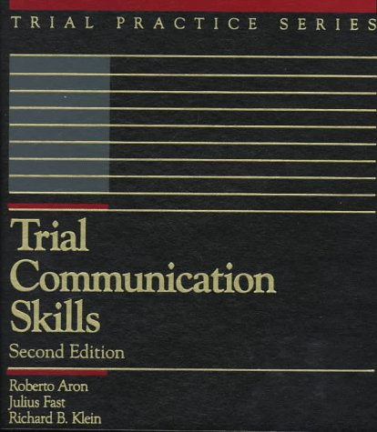 9780071726009: Trial Communication Skills (Trial Practice Series)