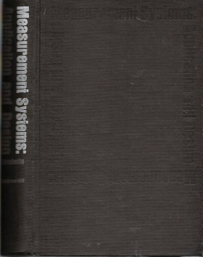9780071733502: Measurement Systems Application and Design