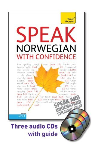 9780071736077: Speak Norwegian with Confidence [With Booklet] (Teach Yourself: Level 2)