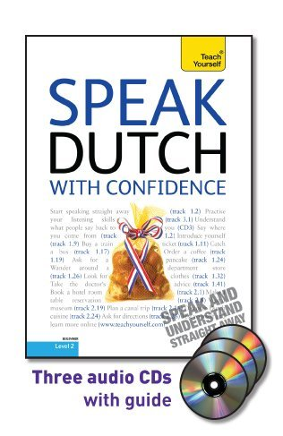 9780071736091: Speak Dutch with Confidence [With Booklet] (Teach Yourself: Level 2)