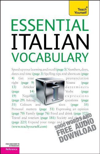 9780071736817: Essential Italian Vocabulary: A Teach Yourself Guide (Teach Yourself: Reference)