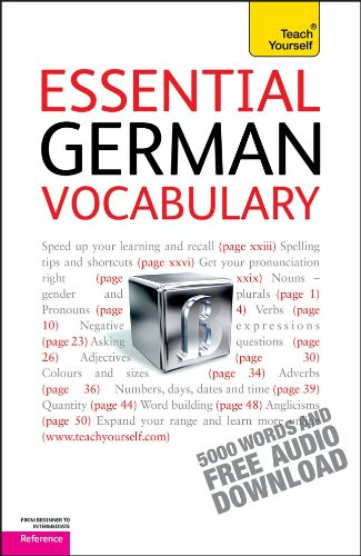 9780071736831: Essential German Vocabulary (Teach Yourself: Reference)