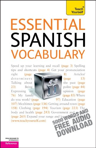 9780071736893: Essential Spanish Vocabulary (Teach Yourself: Reference)
