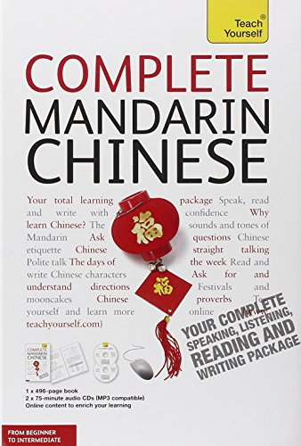Complete Mandarin Chinese with Two Audio CDs: Elizabeth Scurfield