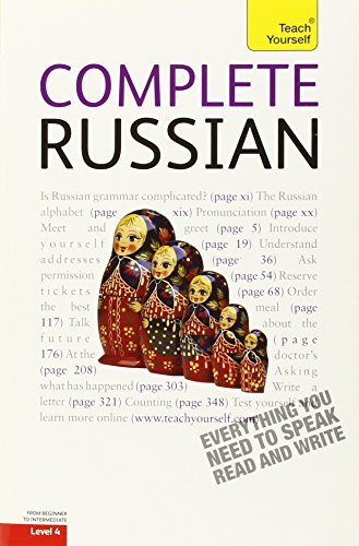 9780071737531: Complete Russian: A Teach Yourself Guide (Teach Yourself Language, Level 4)
