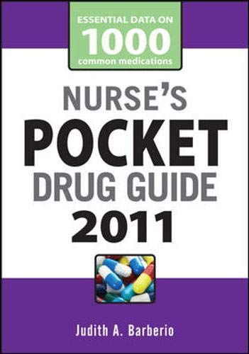 9780071737678: Nurse's Pocket Drug Guide 2011