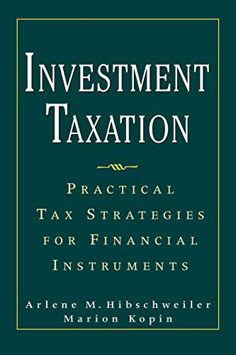 9780071737838: Investment Taxation