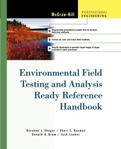 9780071737913: Environmental Field Testing and Analysis Ready Reference Handbook