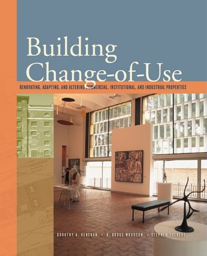 9780071737968: Building Change of Use