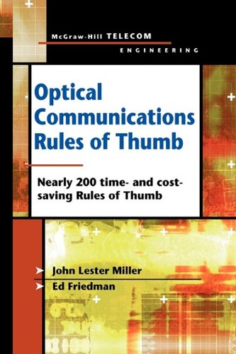 9780071737982: Optical Communications Rules of Thumb