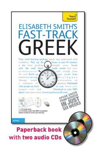 9780071738323: Fast-Track Greek [With Book(s)] (Teach Yourself Fast-Track)