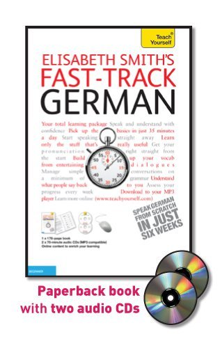 9780071738422: Fast-Track German with Two Audio CDs: A Teach Yourself Guide (Fast Tracks)