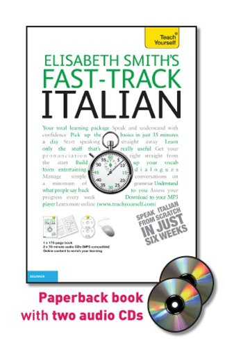 9780071738477: Fast-Track Italian with Two Audio CDs: A Teach Yourself Guide (Fast Tracks)