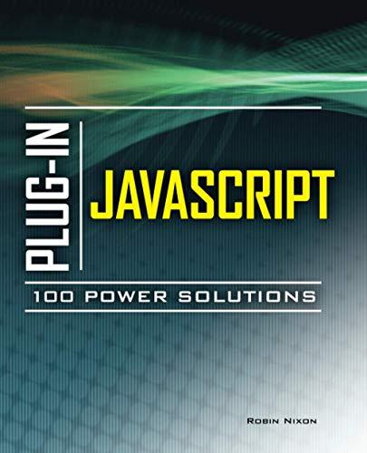 9780071738613: Plug-In JavaScript 100 Power Solutions