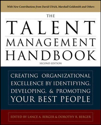 9780071739054: The Talent Management Handbook: Creating a Sustainable Competitive Advantage by Selecting, Developing, and Promoting the Best People