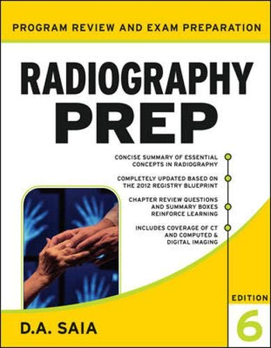 9780071739078: Radiography PREP (Program Review and Examination Preparation), Sixth Edition