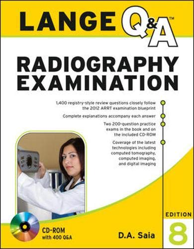 9780071739252: Lange Q&A Radiography Examination, Eighth Edition (LANGE Q&A Allied Health)