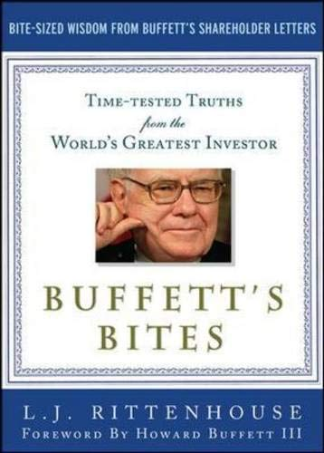 9780071739320: Buffett's Bites: The Essential Investor's Guide to Warren Buffett's Shareholder Letters